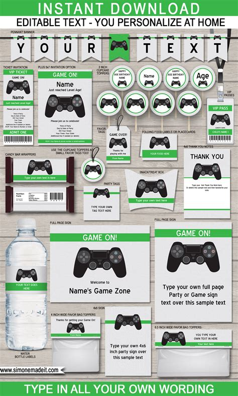 twitter themes video games video game birthday party themes playstation nintendo