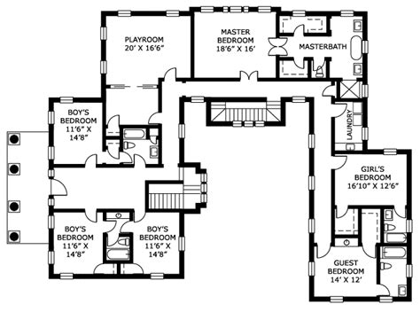 15 spectacular h shaped ranch house plans home plans over the rainbow floor plan