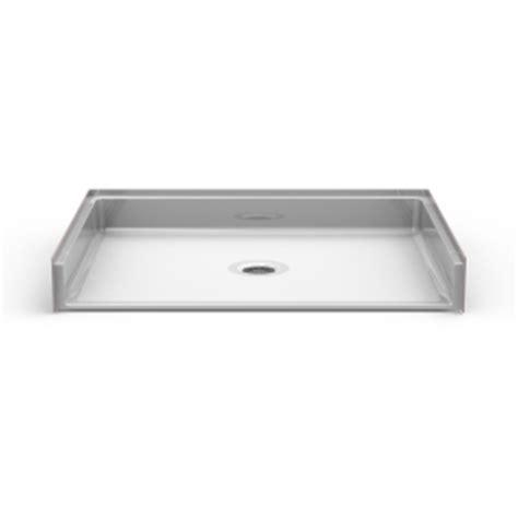best bath shower pans barrier free shower pan seamless 48x34 best bath showroom