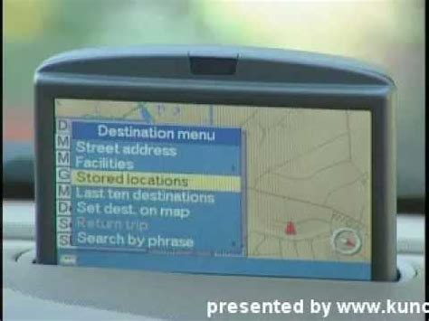 how does cars work 2003 volvo s60 navigation system volvo navigation system volvo gps youtube