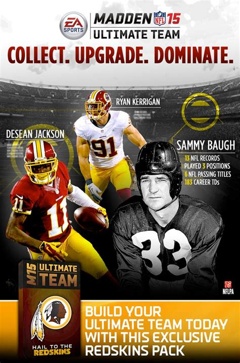 only fans free access redskins fans receive a free madden team pack