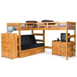 l shape loft bed solid wood l shaped futon loft bed lf