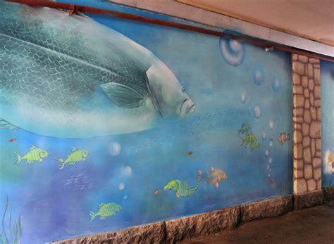 aquarium wall mural wall murals denver muralist and decorative painter