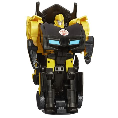 Robot Transformer Robot Transmutes Bumble Bee L015 15 boneco transformers robots in disguise 1 step bumblebee transformers no casasbahia br