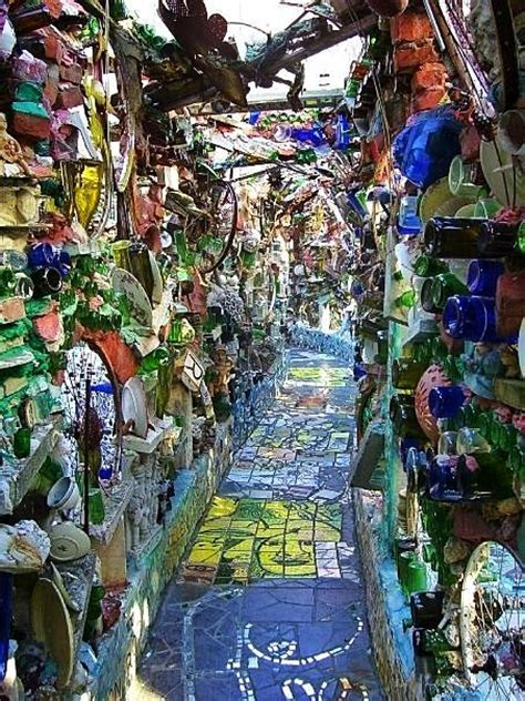 53 best Philly Magic Garden images on Pinterest   Mosaic
