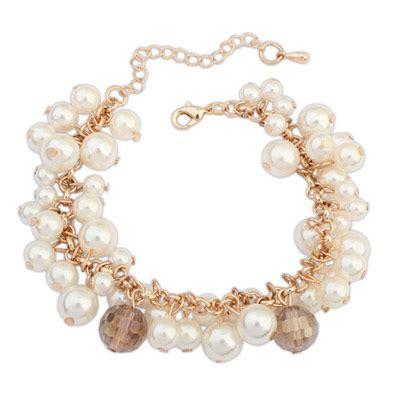 Kalung Korea Pearl Decorated Simple Design 6 white pearl decorated simple design alloy korean fashion bracelet asujewelry