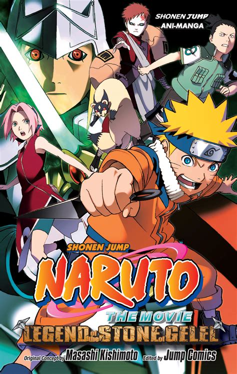 naruto the movie legend of the stone of gelel wikipedia naruto the movie ani manga vol 2 book by masashi