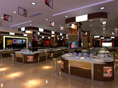 High End Jewelry Stores by High End Jewelry Store 3d Model Max Cgtrader