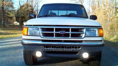 ford ranger fog lights 1993 1997 ford ranger splash halo fog l driving light kit