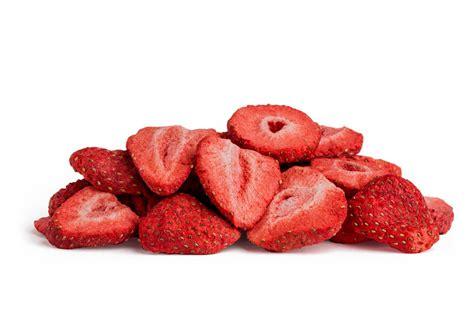 certified organic freeze dried strawberries dried fruit