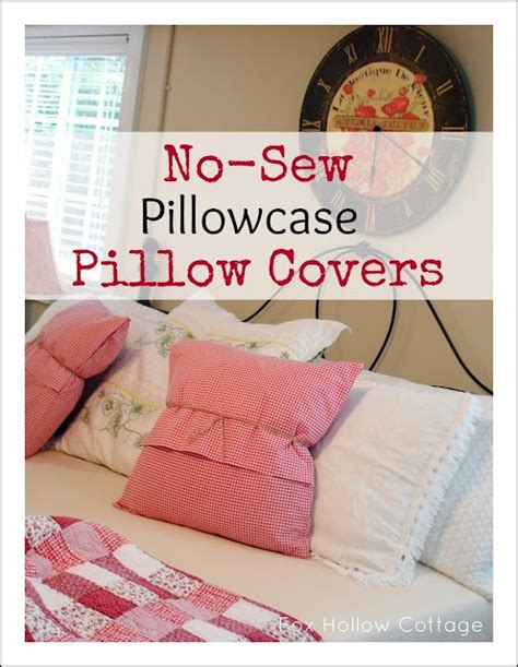 Easy Sew Pillow Covers by 130 Best Pillows No Sew Images On No Sew