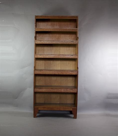 arts and crafts bookcase arts and crafts oak bookcase by arthur simpson antiques