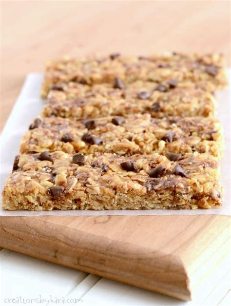top 10 granola bars homemade no bake granola bars