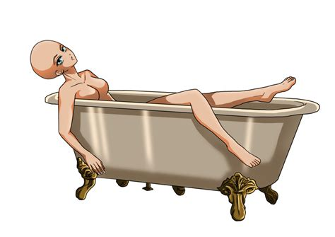 bathroom png female in bath tub base png version by sweetlittlevire on deviantart