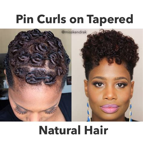 roded black hair style how to pin curls on tapered twa video black hair