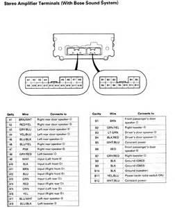 2004 acura tsx speaker wire diagram 2004 acura free wiring diagrams