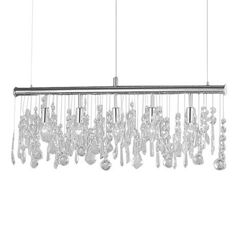 Esszimmerle Kristall by Pendelleuchte H 228 Ngele Le Esszimmer Wohnzimmer Silber