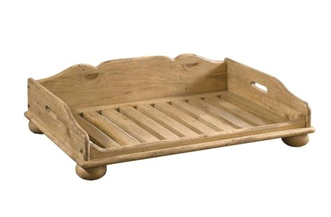 wooden dog beds wood dog bed