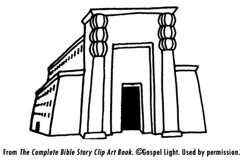 king solomons temple coloring page coloring pages