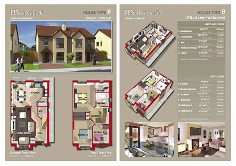 residential layout brochure housing scheme tramore hennessy associates