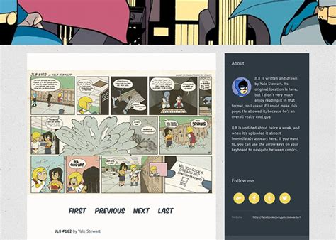 themes tumblr site simple webcomic theme v4 tumblr