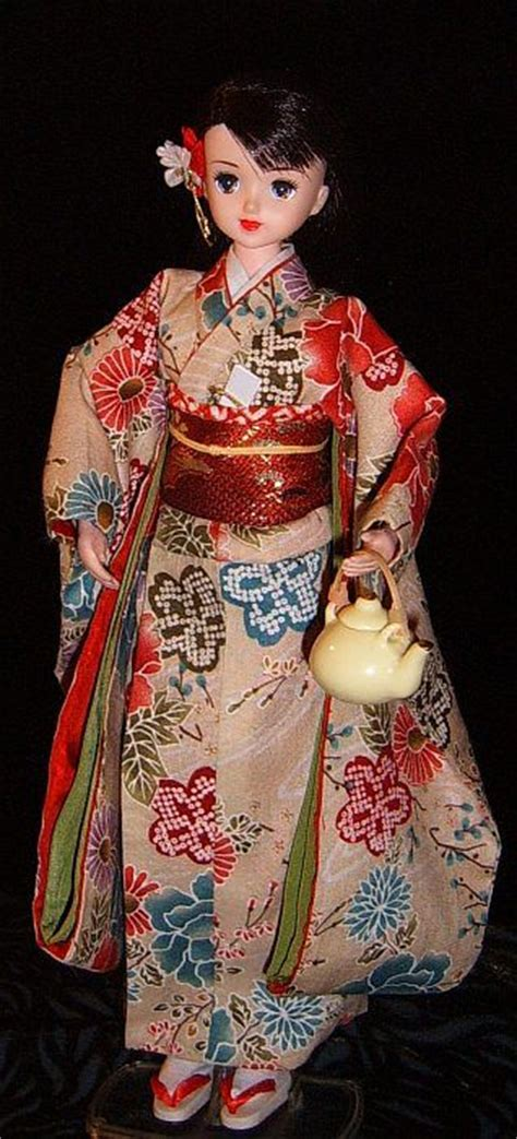 kimono pattern for barbie japanese jenny doll barbie doll and dolls pinterest