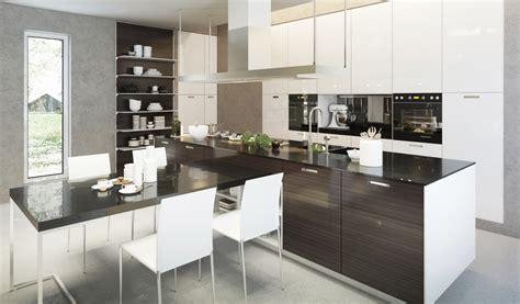 Kitchen Cabinet Trends 2014 by Die K 252 Che Mit Halbinsel Platzsparend Und Multifunktionell