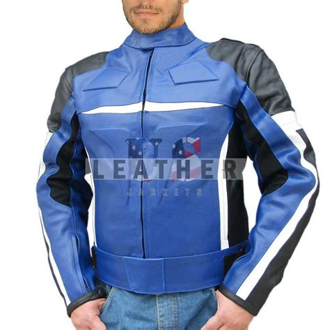 blue motorbike jacket blue motorbike leather jacket motorbike jacket