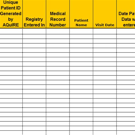 patient tracking template best photos of hospital phone directory template excel