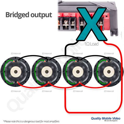 car speakers dual voice coil wiring diagram get free
