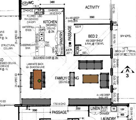 Big Kitchen House Plans by Open Plan Kitchen Floor Plan Homes Floor Plans