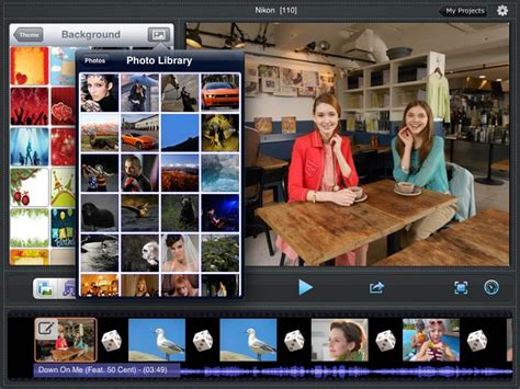 themes in the help film ipad slideshow maker