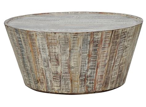 Barrel Coffee Table Wooden Barrel Coffee Table Furniture Roy Home Design