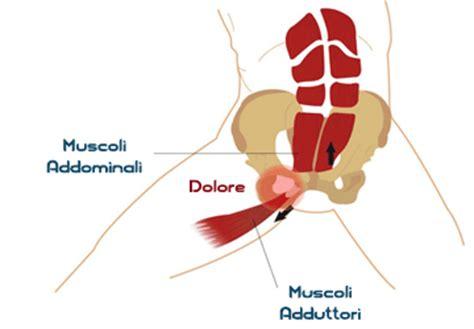 dolore interno coscia inguine pubalgia sintomi cura rimedi ed esercizi
