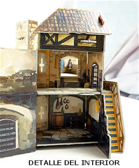casas de la edad media maquetas de monumentos medievales para montar como puzzles 3d