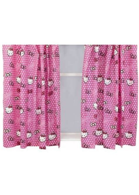 hello kitty curtains and bedding hello kitty polkadot duvet set single girls duvet cover