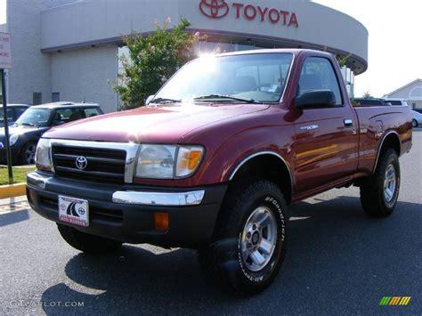 2000 Toyota Tacoma Regular Cab 2000 Cardinal Toyota Tacoma Regular Cab 4x4 15874098
