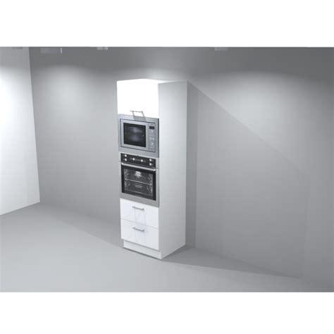 armoire cuisine pour four encastrable colonne micro onde et four table de cuisine