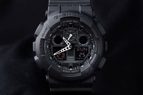 G Shock Quot g shock ga100 1a1 quot the quot mywatchmart