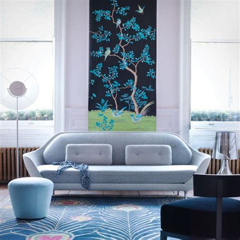 Blue Living Room Decorating Ideas by Blue Chinoiserie Living Room Living Room Decorating