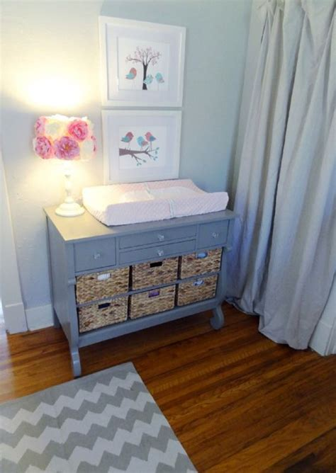 Great Idea For Diy Changing Table Painted Furniture Diy Baby Changing Table