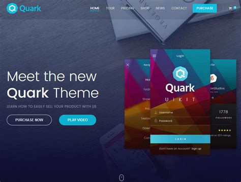 theme wordpress quark quark single product e commerce theme for wordpress wp
