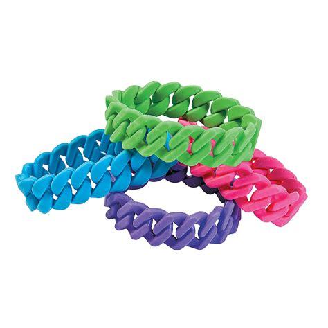 neon chain bracelets trading