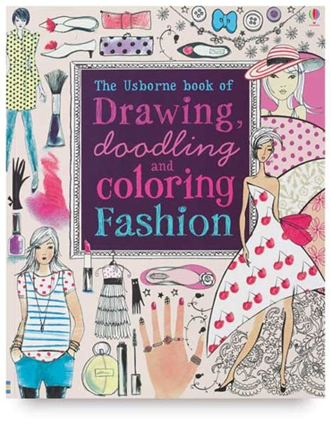 L Drawing Book by The Usborne Book Of Drawing Doodling And Coloring