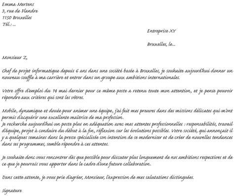 Exemple De Lettre De Motivation Belgique Modele Lettre Motivation Travailleur Social