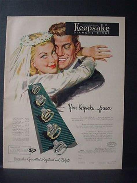 1953 wedding ring couple bride groom keepsake jewelry