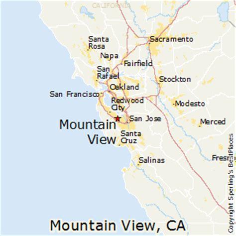 san jose ca mapquest mountain view california map california map