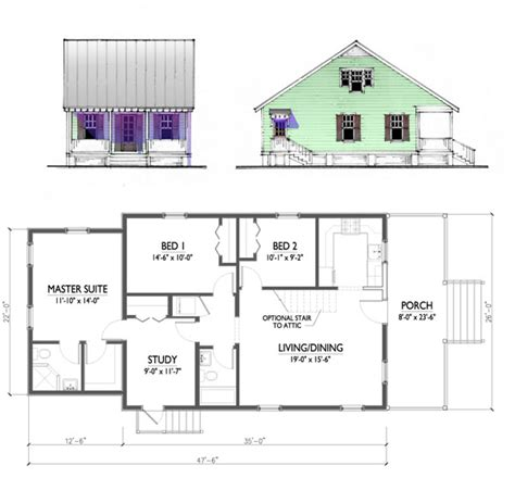 floor plans for small homes