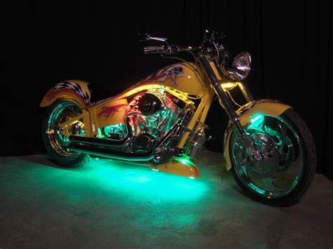 Led Light Kits For Motorcycles by Undercar Neon Kits Streetglow Led Motorcycle Light Kit