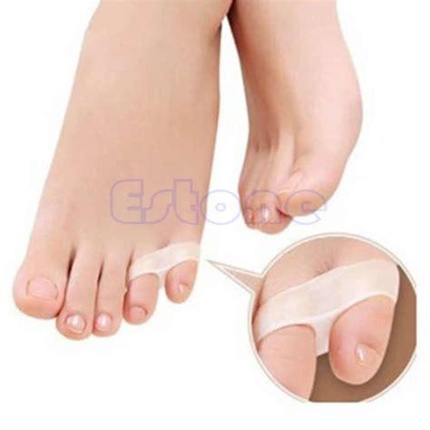 gel 2 holes toe orthotics separator toe straightener separator 1 pair ebay